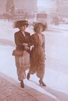 Berlin Passanten um 1900