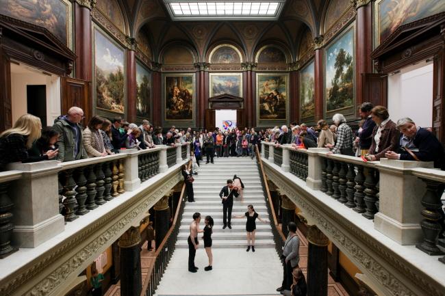 """""""Die Kunst ist zurück"""" - Eröffnung der Hamburger Kunsthalle am 30.04.2016"""