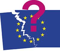 Europaflagge bruch