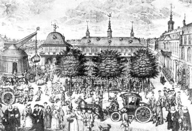 Hamburg, Christian Fritzsch ca. 1735. Quelle: www.wikipedia.de