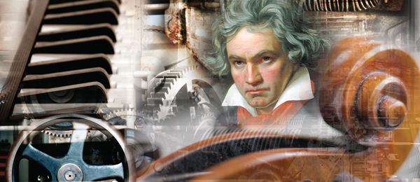 Montage aus RKB by diverse (Räder), birgitH (Klaviertasten) und Rainer Sturm (Geige), alle www.pixelio.de