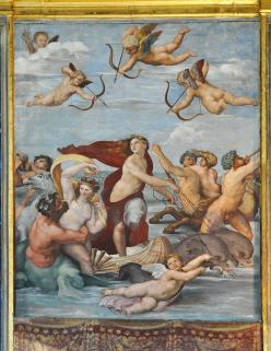 Raffael, Triumph der Galathea