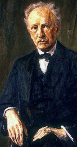 Richard Strauss_Max Liebermann 1918