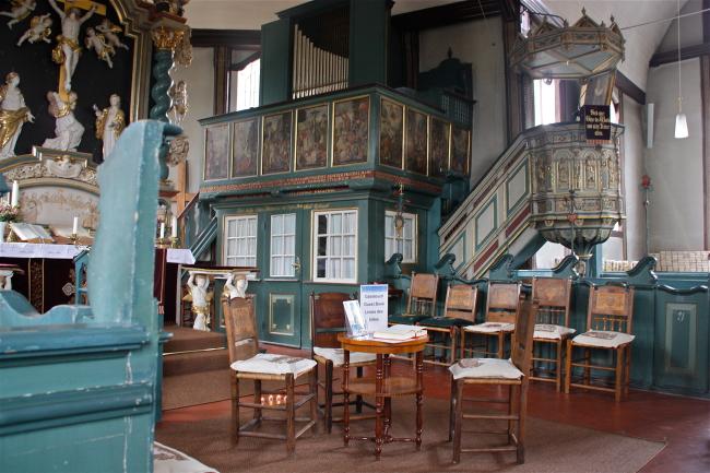 St. Johannis, Curslack, alter Orgelboden. Foto © Dirtsc / wikipedia.de